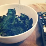 Kale Chips - A healthy snack for movie night. Kids love it too!
