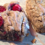 Wheat-Free Cranberry Scones with toasted coconut